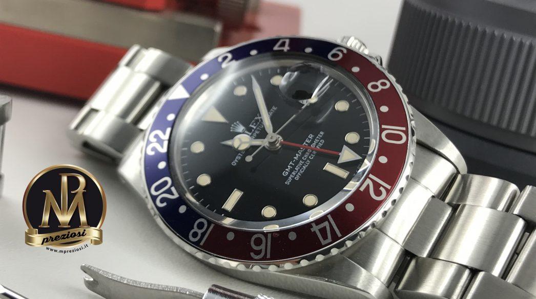 Rolex-GMT-MASTER-16750-MP-Preziosi-orologi-Segrate