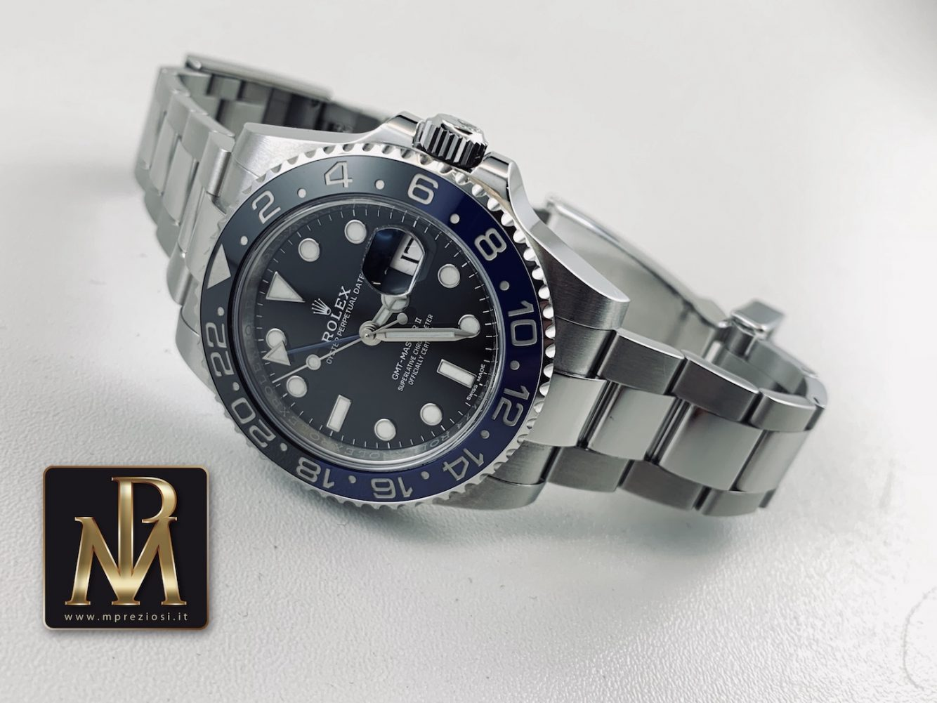 Rolex-gmt-master-II-blnr-batman-116710-mp-preziosi-orologi-mpreziosi.it