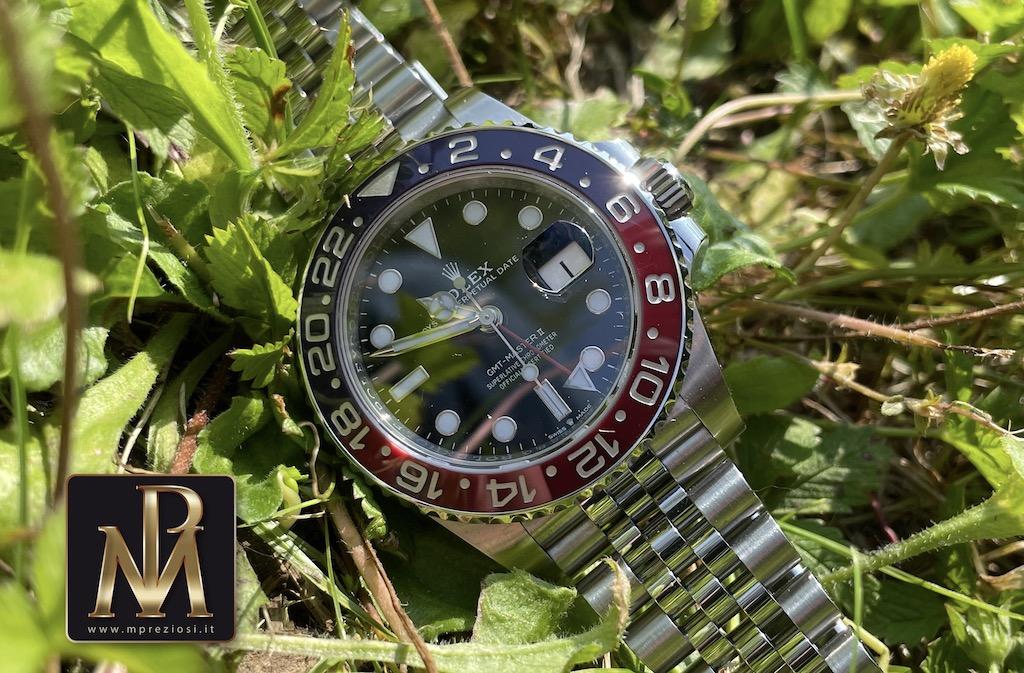Rolex GMT MASTER 126710blro mpreziosi orologi segrate